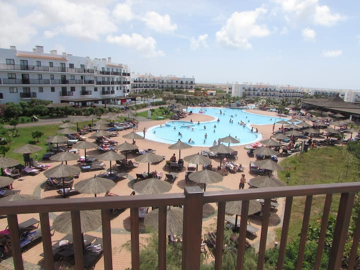 Pool View Penthouse Apartment 2 Bedrooms Sol Dunas