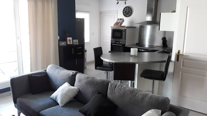 Appartement T2 lumineux proche centre ville