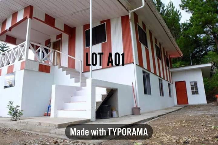 Syameen's kampungstay A01 - Stripe House 1st Floor
