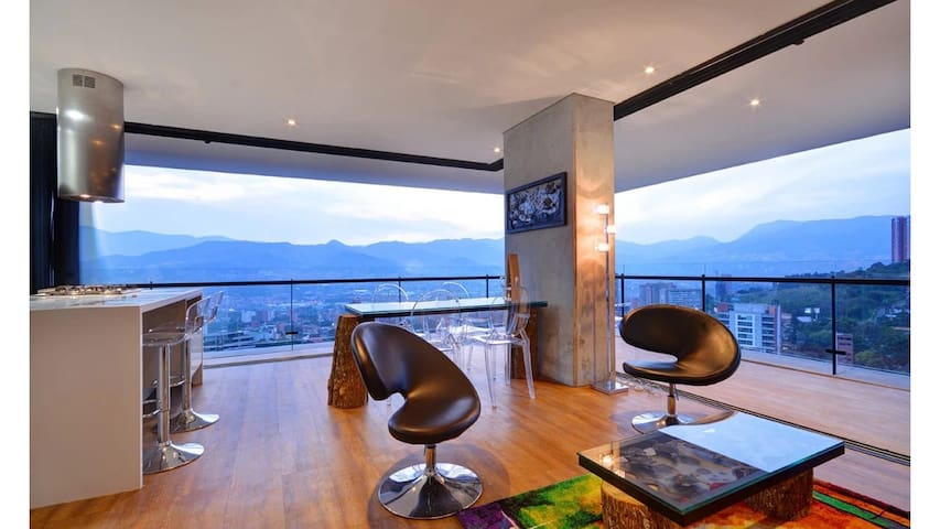 POBLADO/Energy LIving/PANORAMIC/AmazingView/Jacuzi