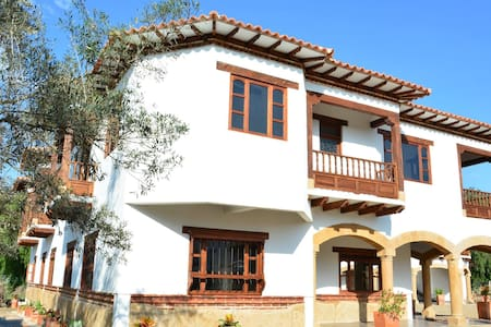 HOTEL CAMPESTRE Y COLONIAL CON PISCINA - Villa de Leyva - Overig