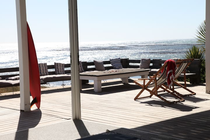 sea view and sunset seating