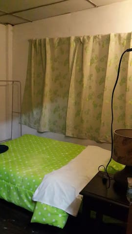 Double Room  with fan room and shared bathrooms