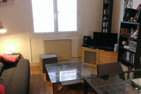 T2 confortable quartier Gares / Alsace-Lorraine - Grenoble