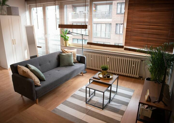 Zentral gelegenes Appartement in Düsseldorf