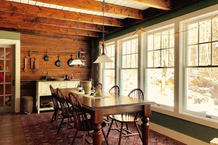 Upscale ski cottage in Waitsfield/Warren, VT - Waitsfield - Talo