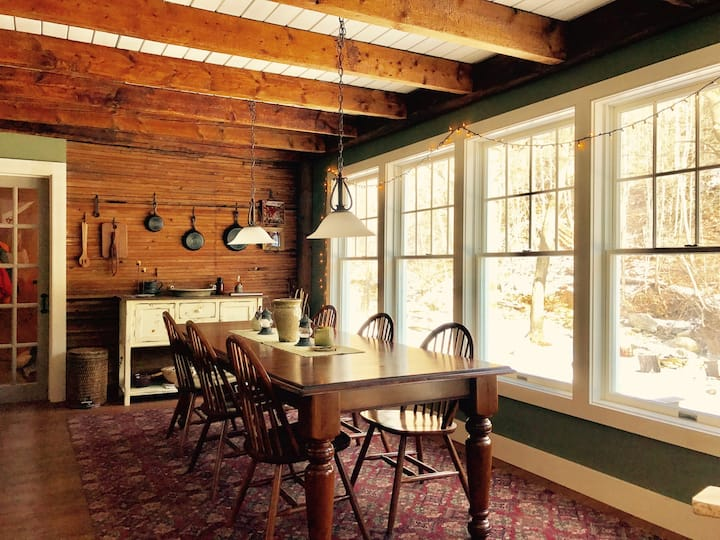 Upscale ski cottage in Waitsfield/Warren, VT