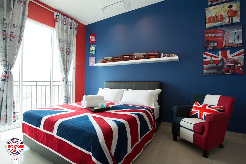 Union jack 家 majestic ipoh j old town
