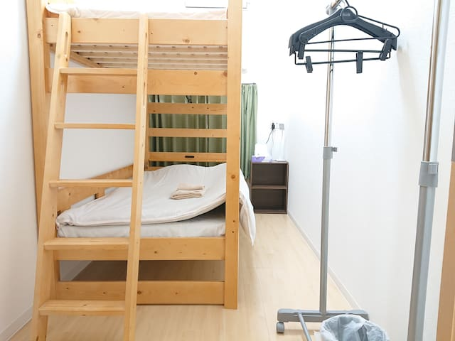 Male Only Single Room with Shared Shower& Toilet B