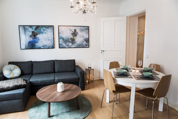 Bright spacious apartment in the heart of Bergen!