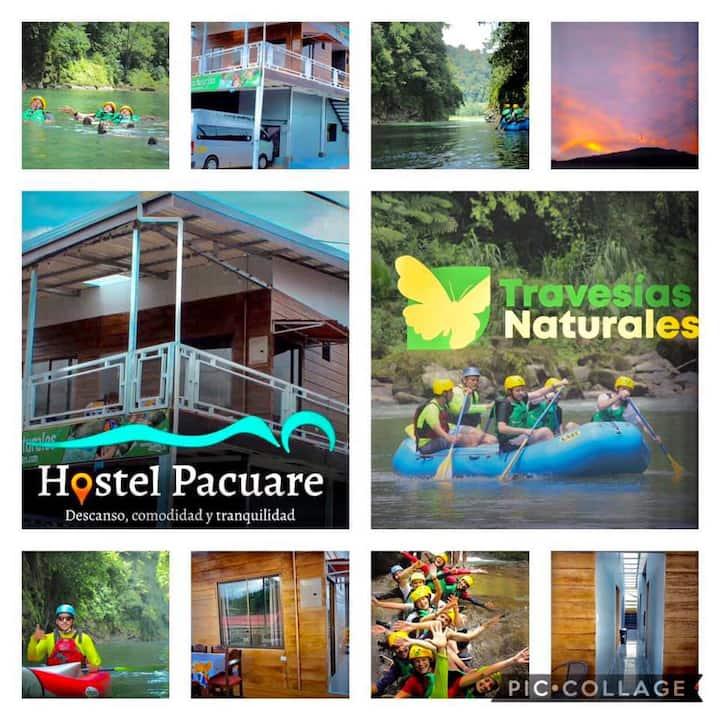 Hostel Pacuare, Alojamiento con desayuno incluido