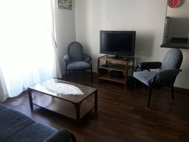 Acogedor  departamento (condominio Mistral IV)
