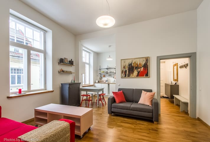 One of a kind apartment in the heart of town!