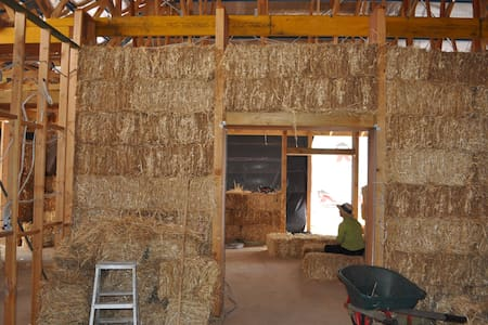 Strawbale house - Bacchus Marsh