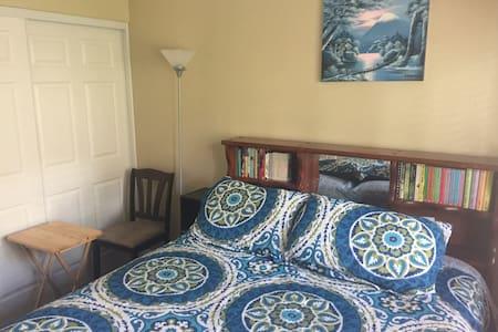 Charming Private Room/BA 15 Min to Carlsbad beach!
