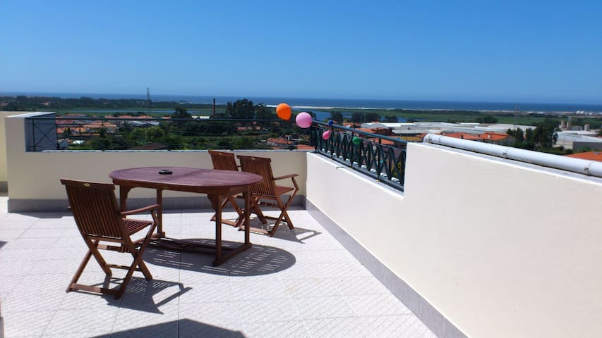 Penthouse with sea views @ Oporto - Esmoriz - Apartamento