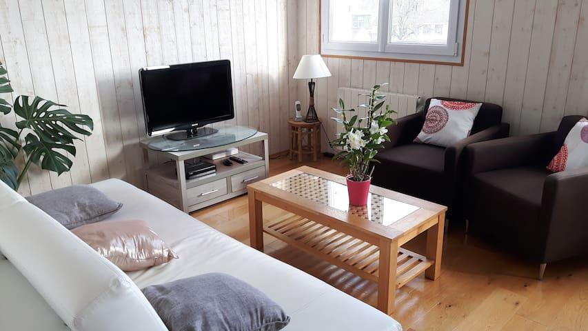 Appartement sur les hauteurs de Quimper - Quimper - Huoneisto