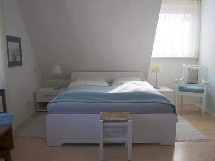 Ferienhaus Cleo, (Uhldingen-Mühlhofen), Doppelzimmer 22qm mit Dusche und WC