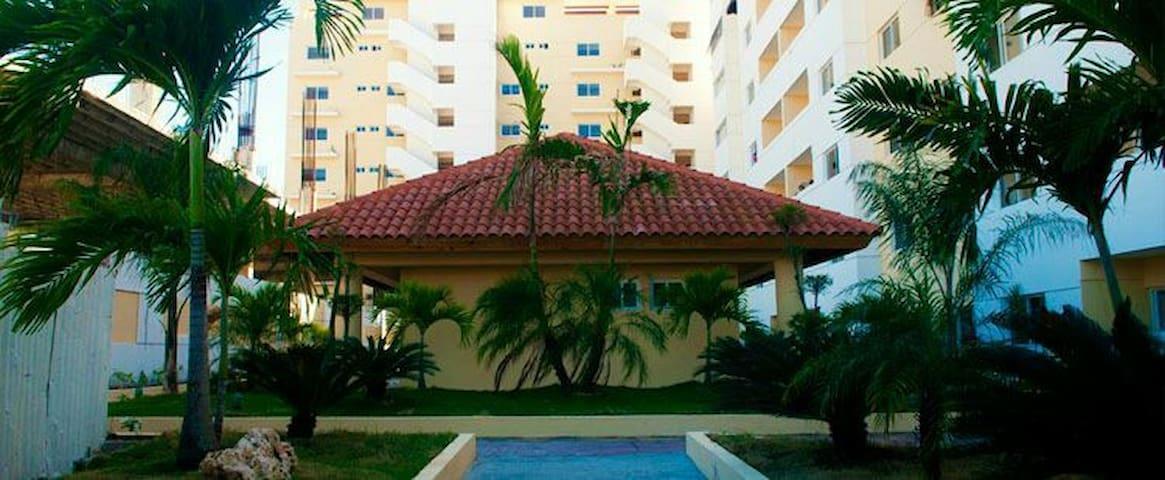 AMPLIO Y  COMODO APARTAMENTO - Santo Domingo