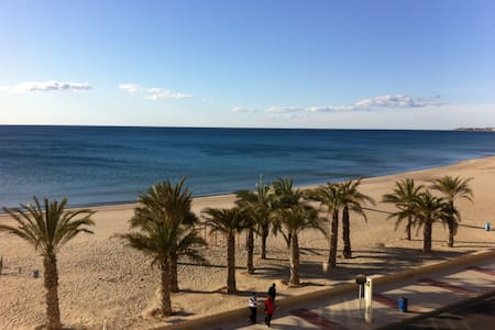 Beachfront Studio for 2/3 pers - El Campello