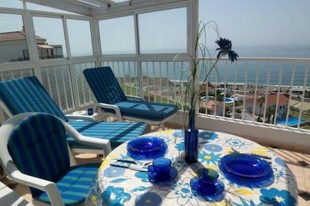 Atico Wifi vista al mar, aire acc - Torrox Costa - Wohnung