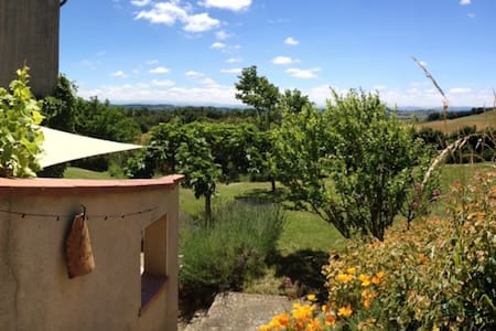 Gîte rural en pleine campagne - Belpech