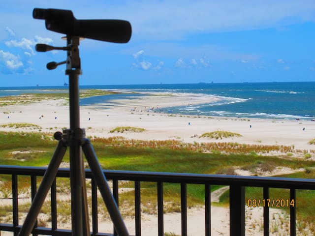 Holiday Isle 6th Floor Luxury Condo--No Fees - Dauphin Island - Appartement
