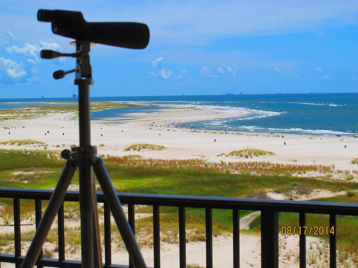 BeachFront. Indoor&Outdoor Pools. Best Gulf View.