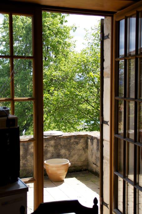Terrasse latérale