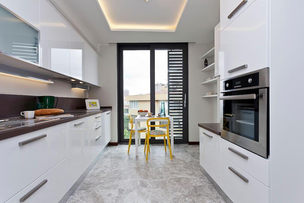 great designed kitchen