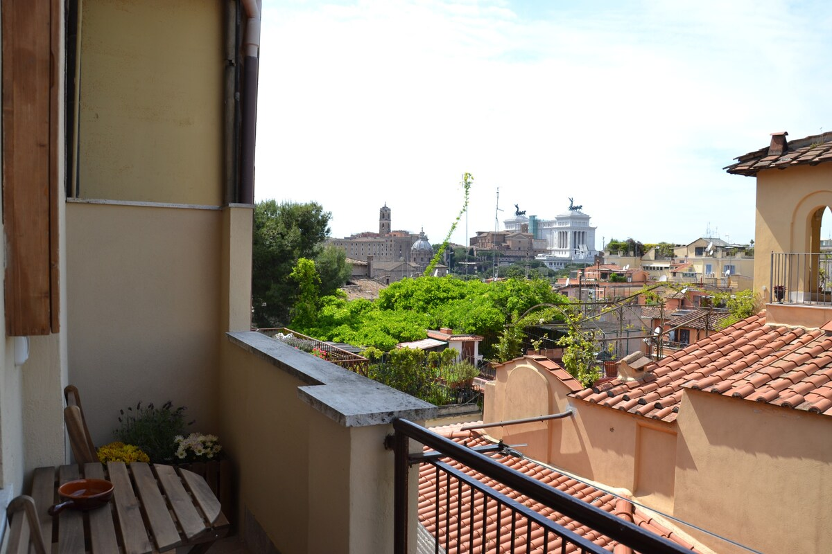 STUDIO WITH VIEW NEAR THE COLOSSEUM - Apartments for Rent in Rome ...