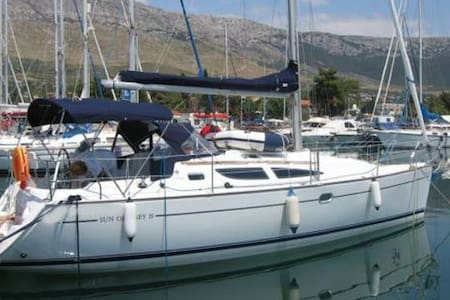Beautiful sailing boat in Corfu's marina - Gouvia - Apartment