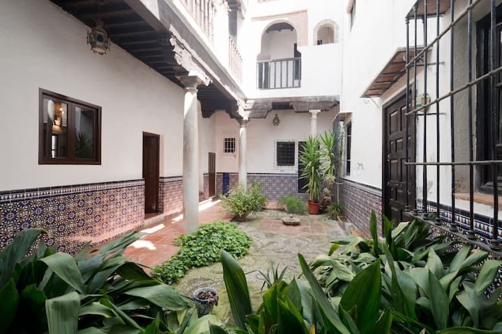Andalusian arab blue room - Granada - Hus