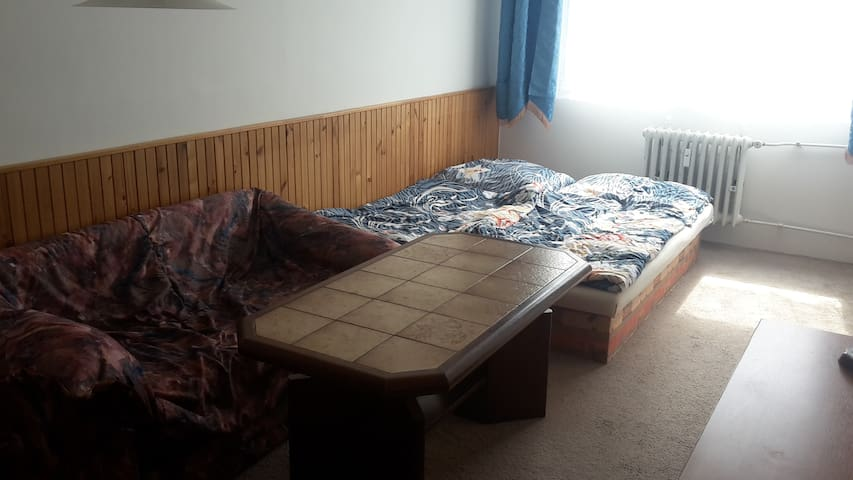Private flat 2 rooms + kitchen + Wifi available - Kladno - Lägenhet