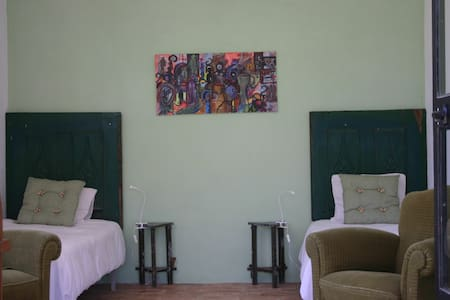 Studio 6 for 2 on eco-domain - Bed & Breakfast