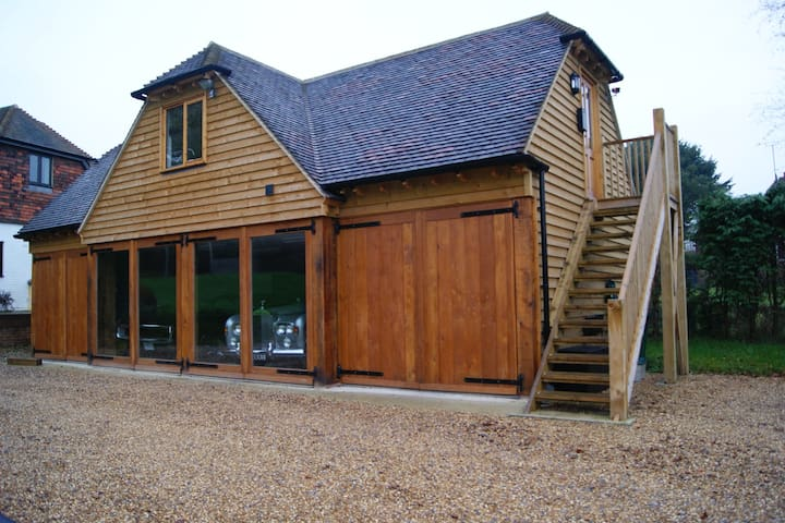 Barn conversion breath taking view  - Cowden