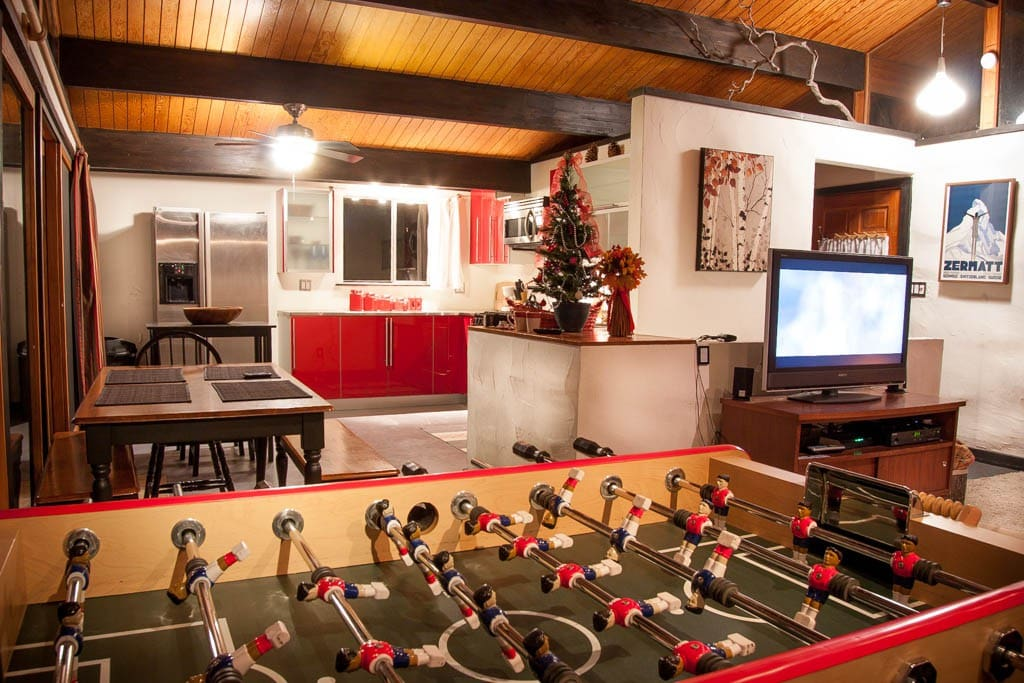 have a foosball tourney!