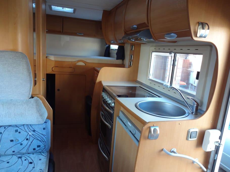 Fiat ci181 with garage camping cars caravanes louer llansanffraid royaume uni - Garage a louer pour camping car ...
