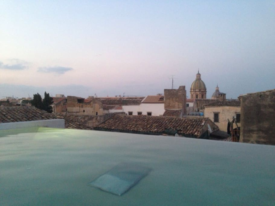 Privete Jacuzzi with a view