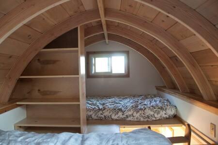 Private cozy tiny house, large yard - Berkeley - Wohnwagen/Wohnmobil