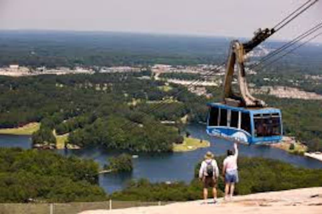 Stone Mountain Park sits as an urban oasis just minutes away from downtown Atlanta.