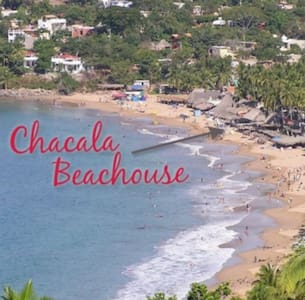 Chacala Beach House..Only house on the sand - Dům