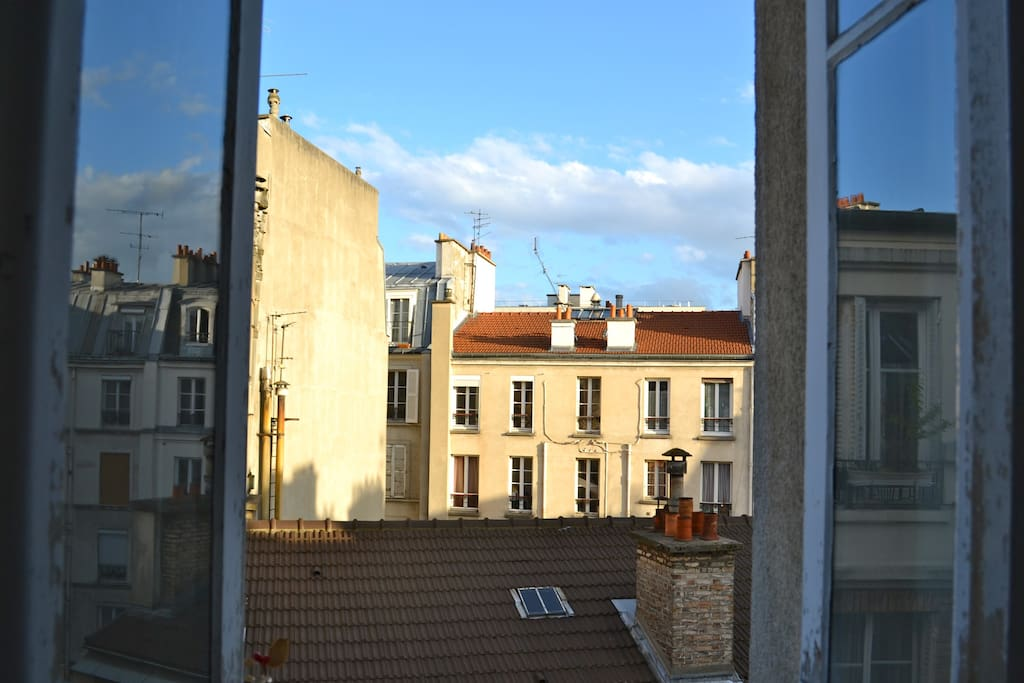 Vue du salon / View from living room