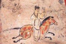 wei and jin period mural