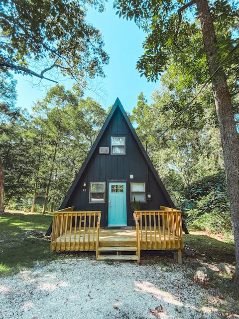 Quaint Scandinavian A-frame Getaway