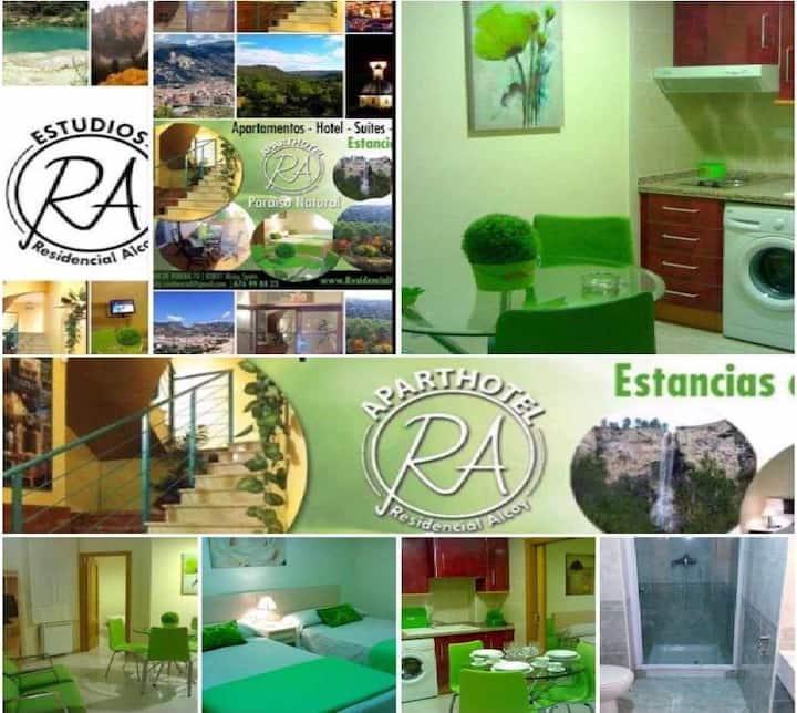 APARTAMENTOS HOTEL SUITES RA - RESIDENCIAL ALCOY