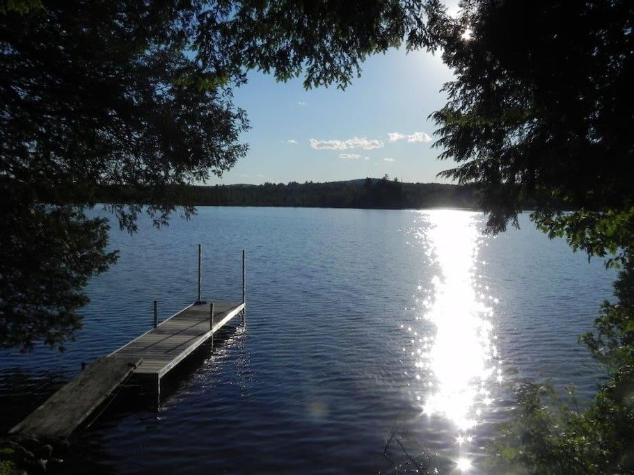A Beautiful Lakefront Maine Cottage Cabins For Rent In