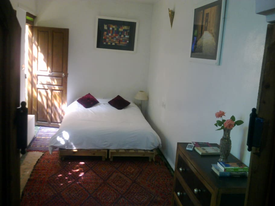 Double bed main view