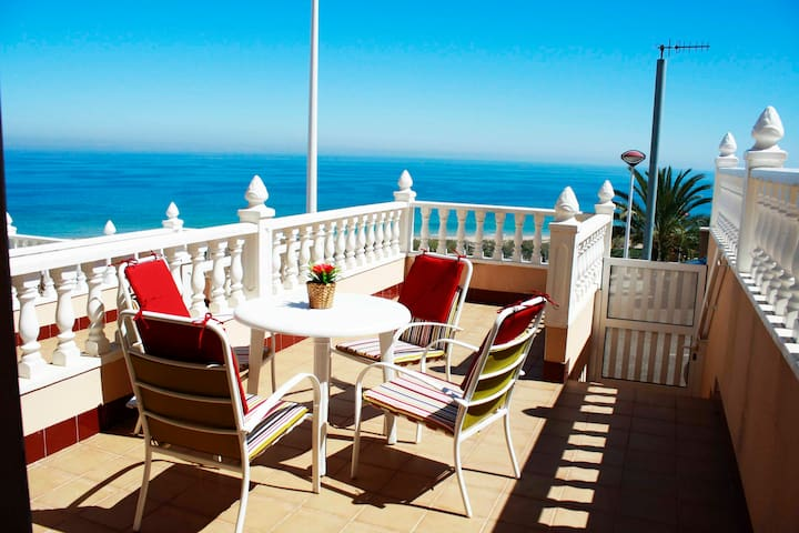 beauty bunga sea views swimmingpool - Los Arenales del Sol - Casa