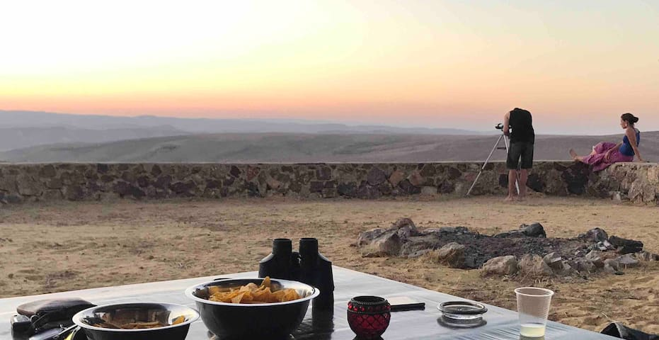 Desert View. unique experience and Desert cuisine.